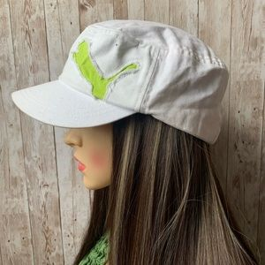 Puma Lime Green Logo Hat